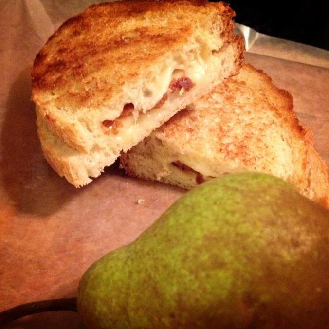 Grilled Fontina sandwich
